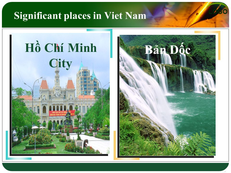 LOGO Hạ Long Bay Huế Significant places in Viet Nam Hồ Tây Đà Lạt Hồ Chí Minh City Bản Dốc