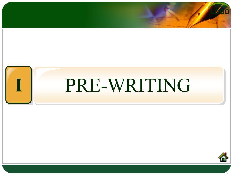 LOGO PRE-WRITING I