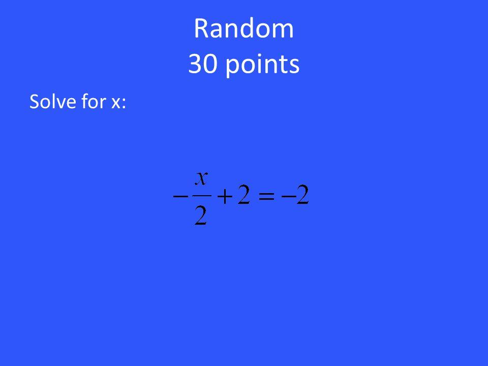 20 points 1x 5x + 6 = 3x + 10 xx xx xxx11 111 111 1 111 111 = 2x = 4 x = 2 Divide by 2 5 triangles and 6 squares 3 triangles and 10 squares Since ther