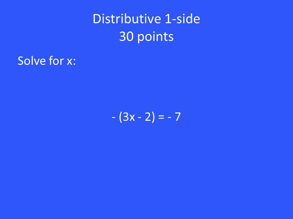 20 points Is x = -3 a solution. Why or why not.