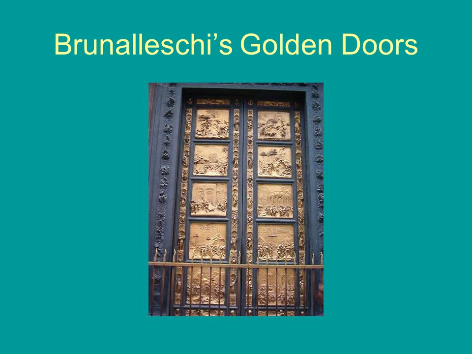 Brunalleschi's Golden Doors