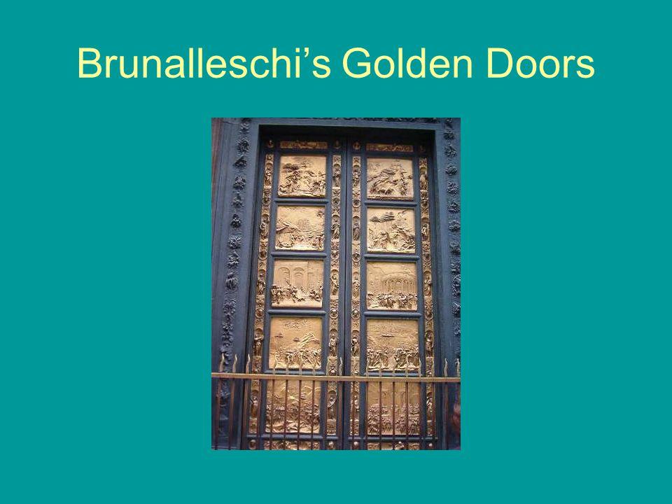 Brunalleschi's Golden Doors