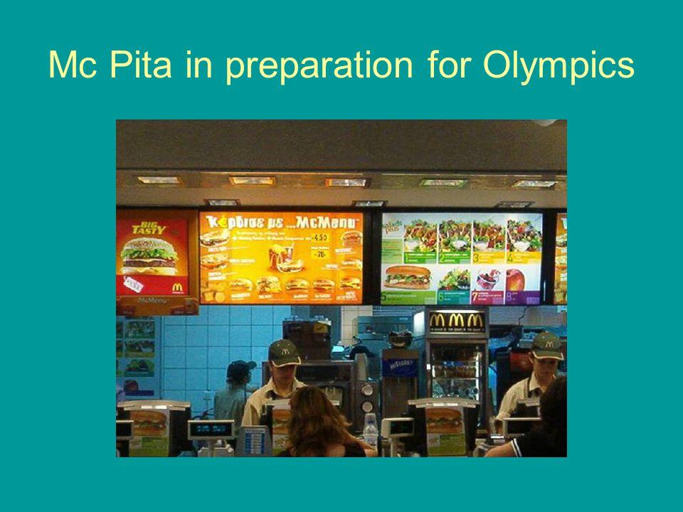 Mc Pita in preparation for Olympics