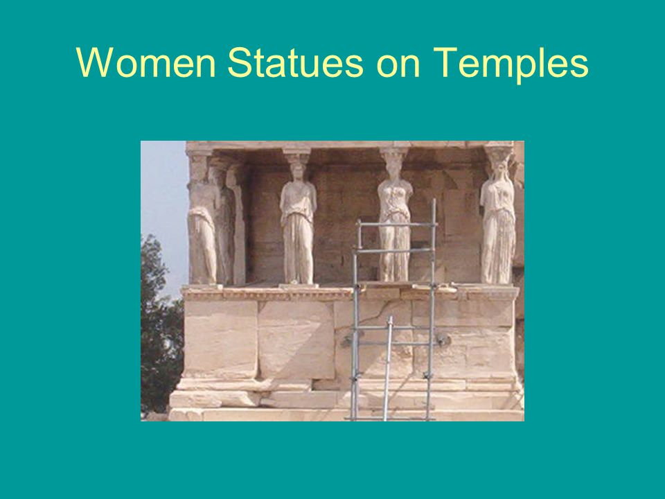 Women Statues on Temples