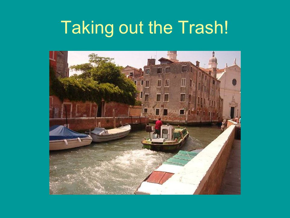Taking out the Trash!