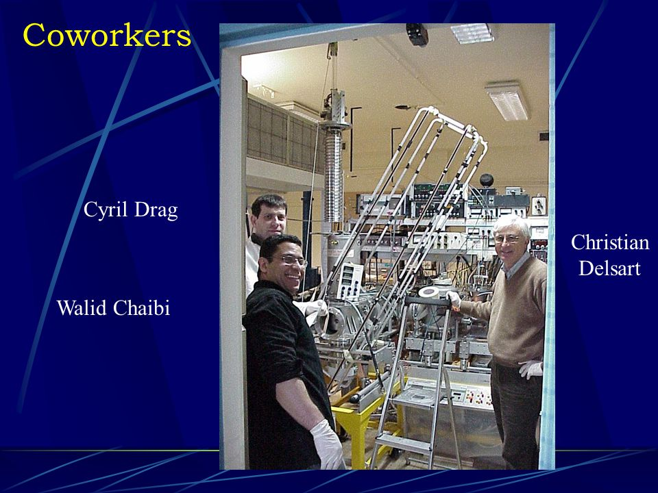 Coworkers Cyril Drag Walid Chaibi Christian Delsart