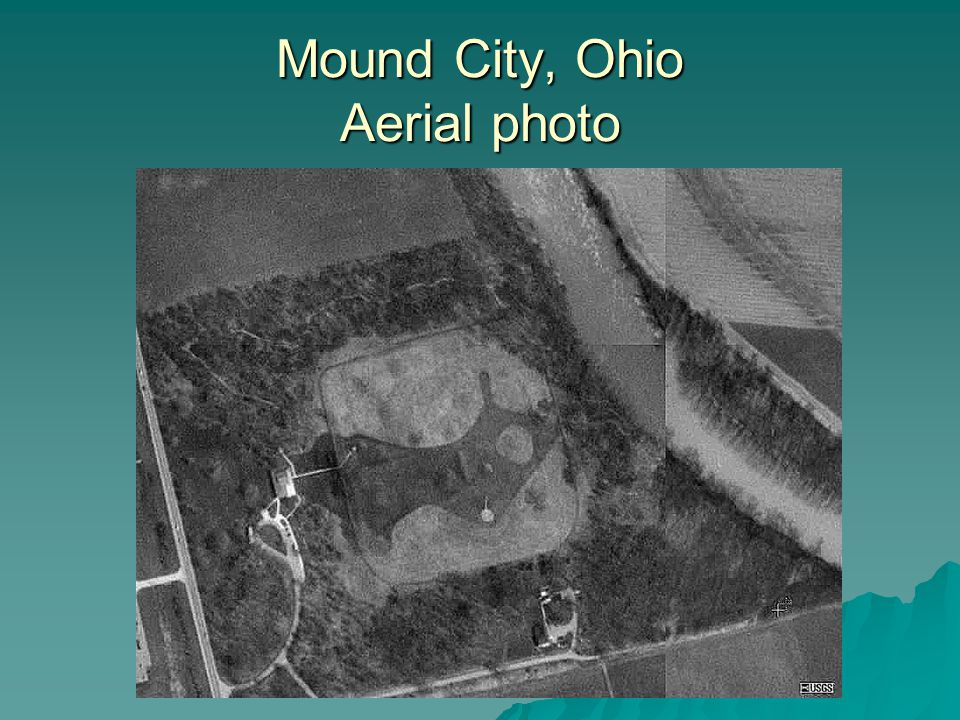 Mound City, Ohio Aerial photo