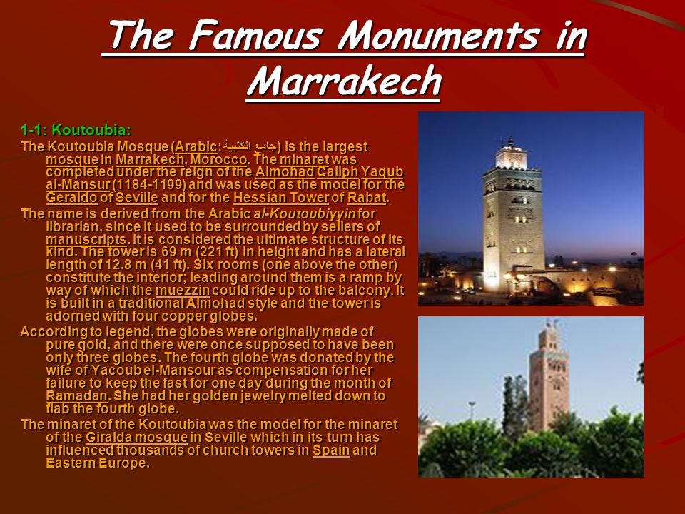 Geography Of Marrakech 1-4.