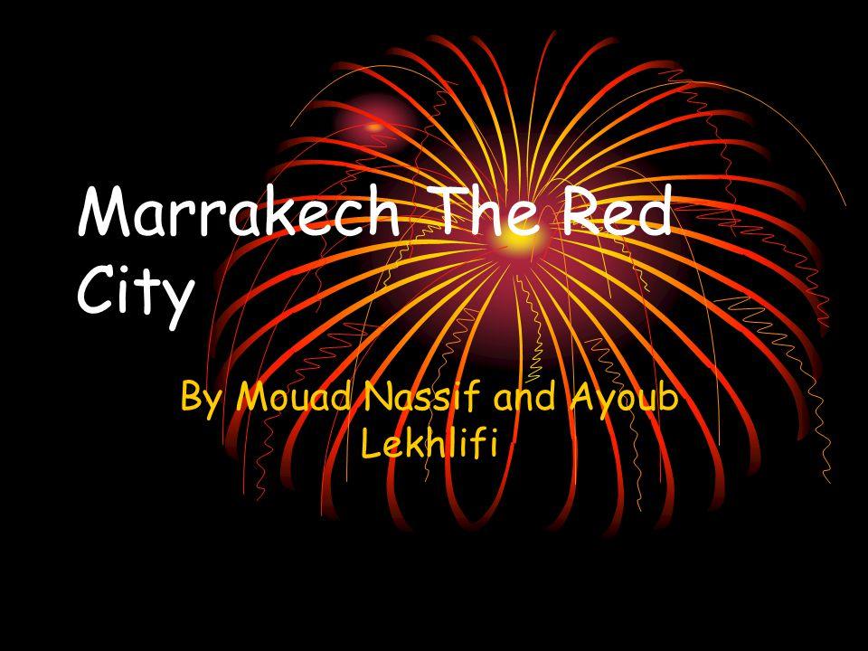 Marrakesh First Name: Aimad Mohamed Family Name: Tariq