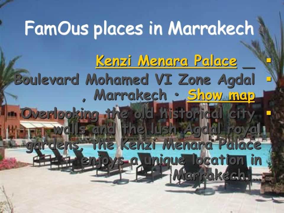  Marrakech has the largest traditional market (souk) in Morocco and also has one of the busiest squares in Africa and the world, Djemaa el Fna.[2] The square bustles with acrobats, story- tellers, water sellers, dancers, and musicians.
