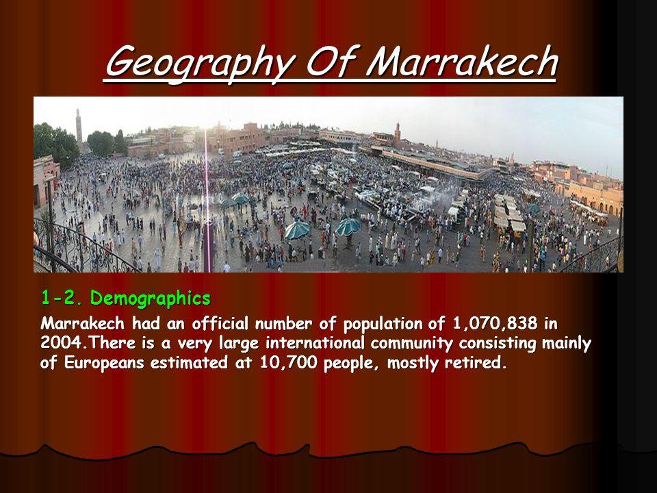 MARRAKESH CITY OF PALMS By : OUMAIMA LEKHLIFI AND FATIMA EZZAHRA BOUSSAGI And Meriem ouquass And Marouan moudar