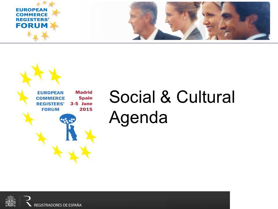 Social & Cultural Agenda