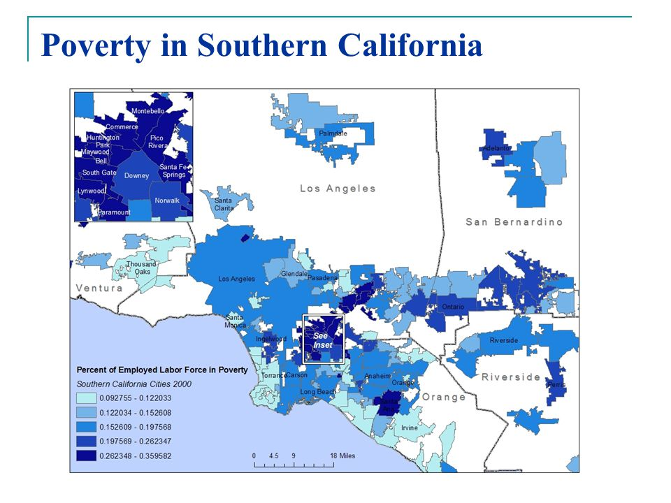 Poverty in Southern California