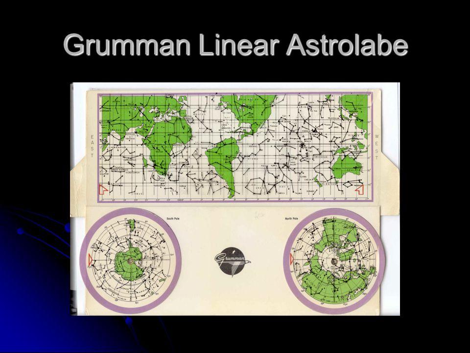 Grumman Linear Astrolabe