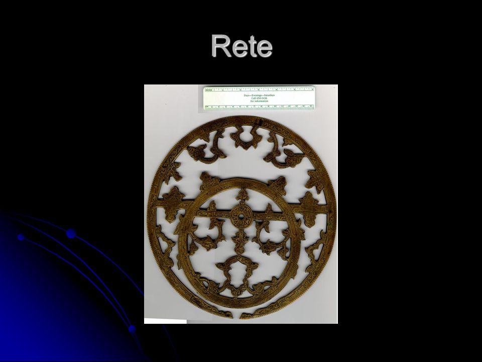 Janus astrolabe rete