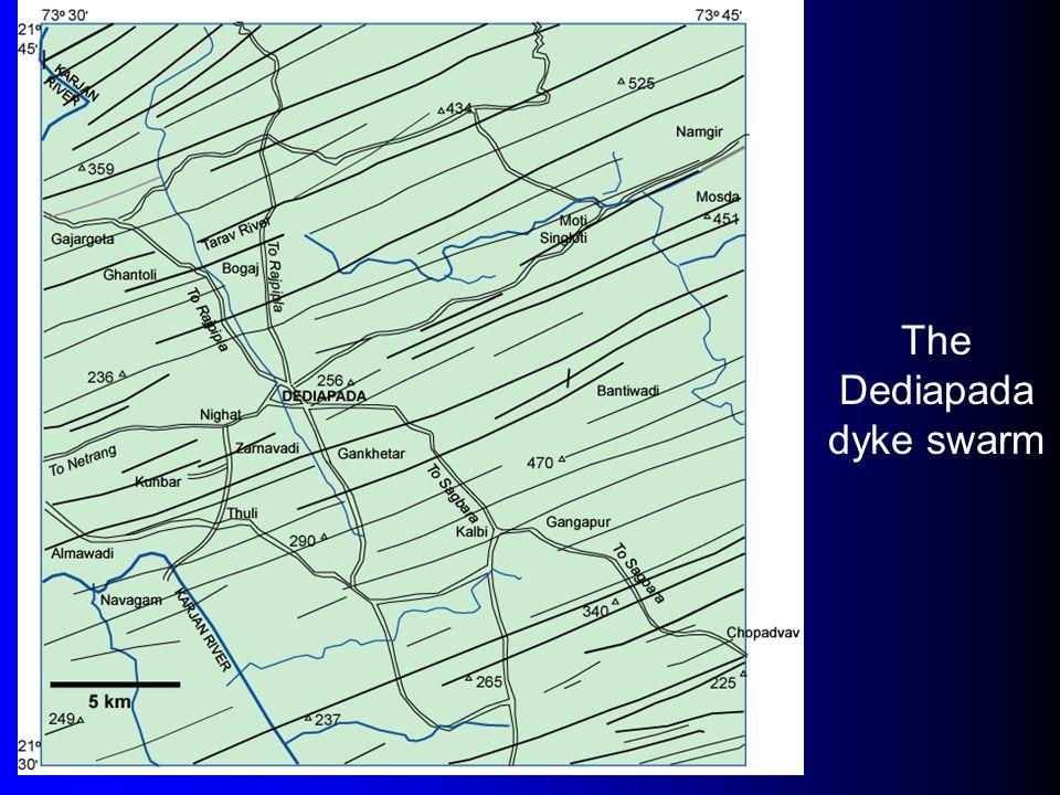The Dediapada dyke swarm
