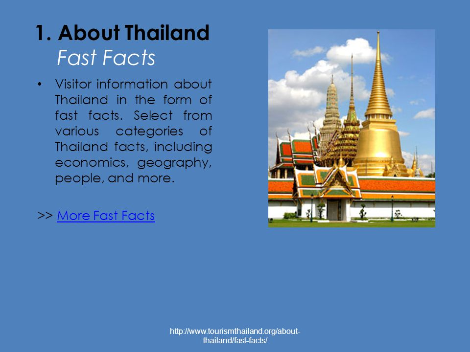 1.About Bangkok Tourist Hotspots Bangkok is considered to be one of the world s tourist hotspots.