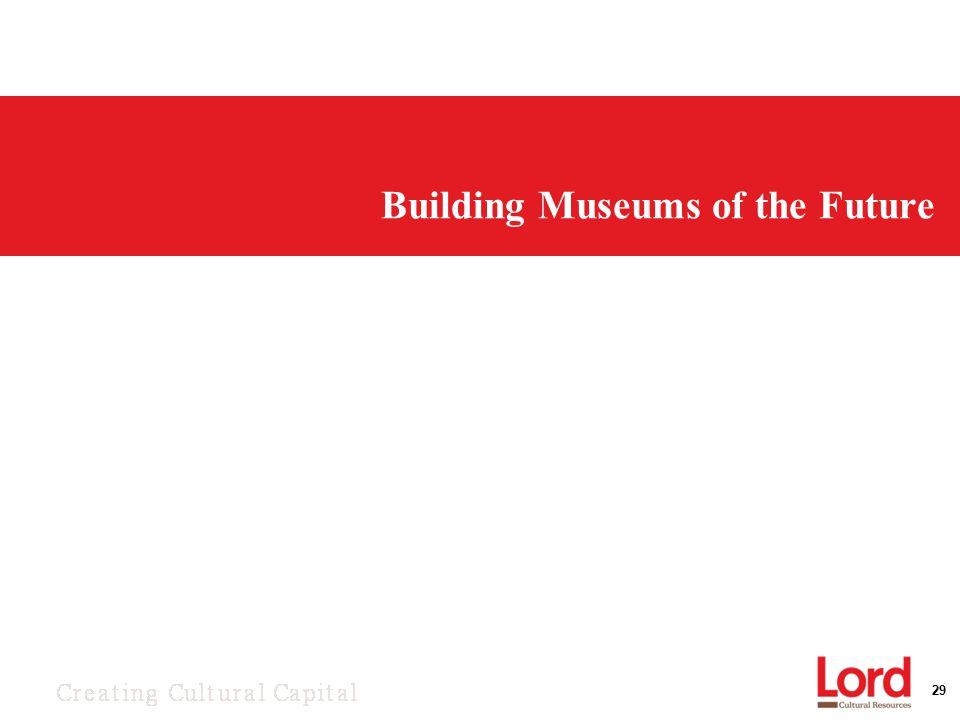 29 Building Museums of the Future
