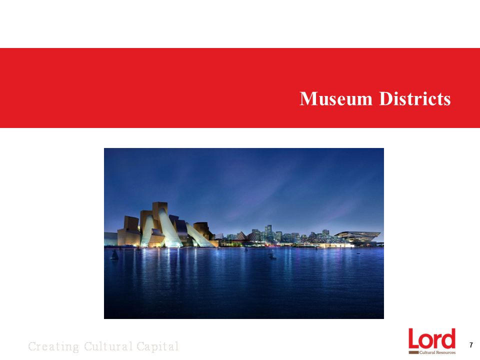 7 Museum Districts