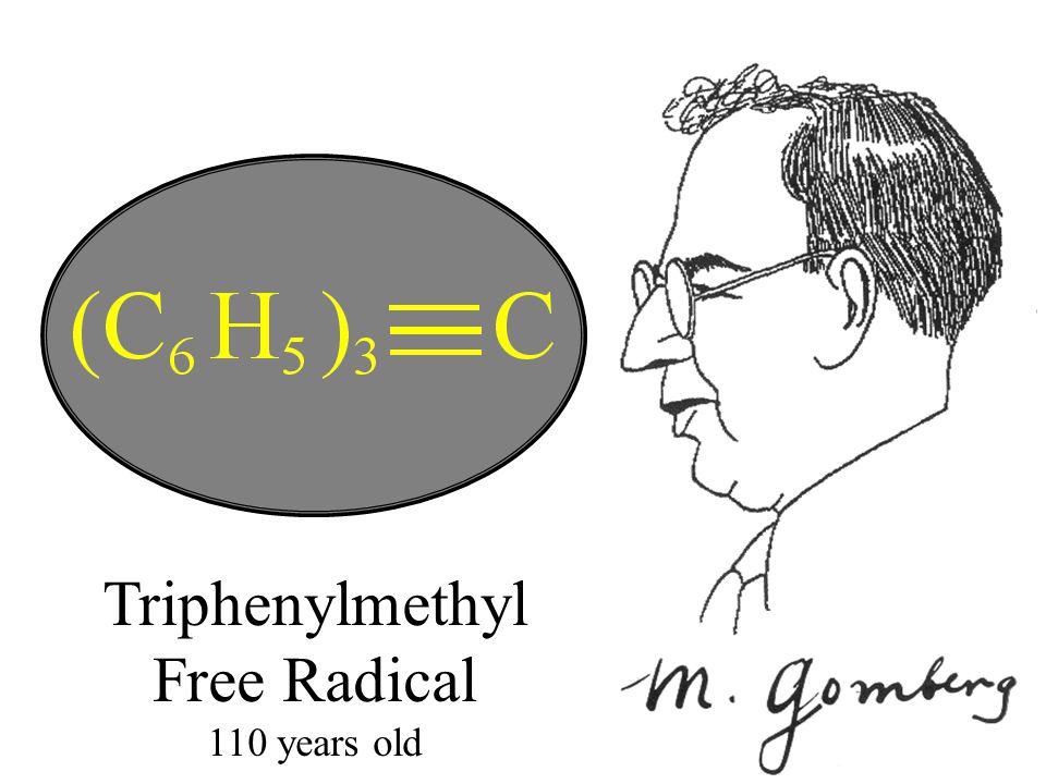 Triphenylmethyl Free Radical 110 years old