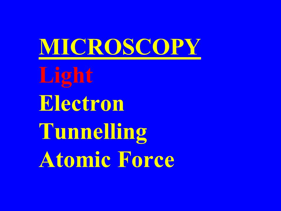 Tunnelling Microscopy Oh Where, Oh Where Has My Xenon Gone.