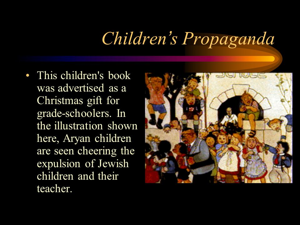 Children ' s Propaganda This children s book was advertised as a Christmas gift for grade-schoolers.