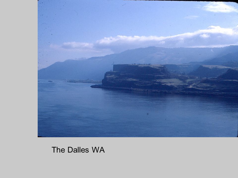 The Dalles WA