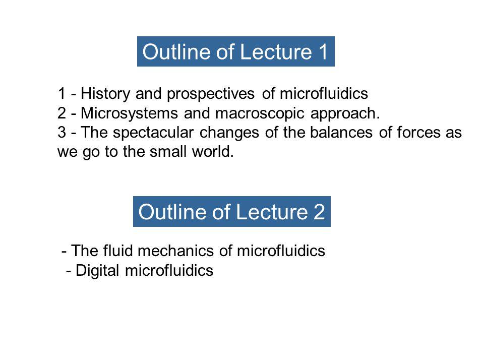 AN INTRODUCTION TO MICROFLUIDICS : Lecture n°4 Patrick TABELING, patrick.tabeling@espci.fr ESPCI, MMN, 75231 Paris 0140795153