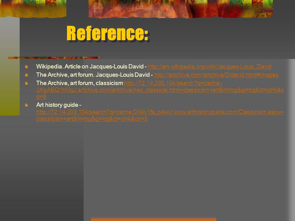 Reference: Wikipedia.