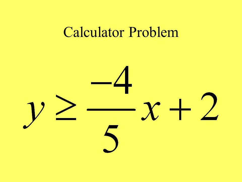 Calculator Problem