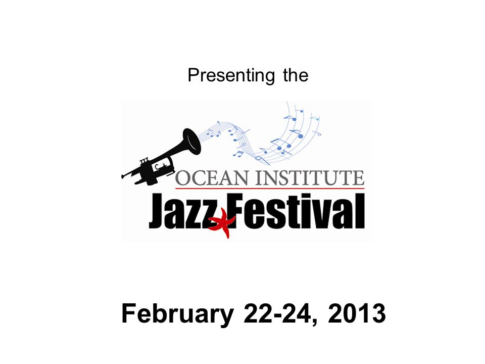 Presenting the February 22-24, 2013