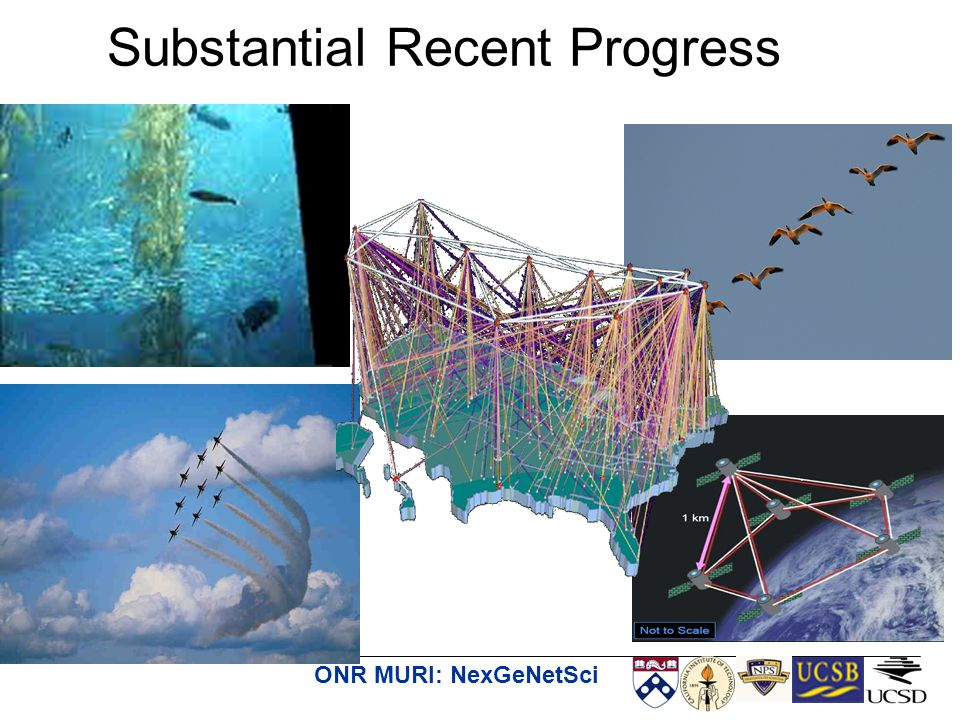 ONR MURI: NexGeNetSci Substantial Recent Progress