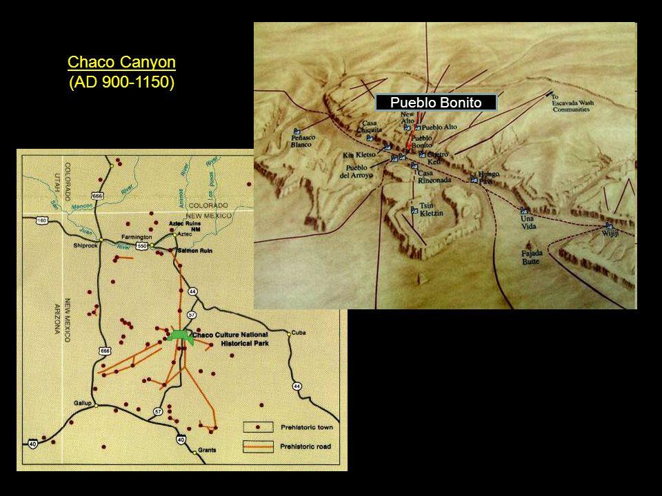 Pueblo Bonito Chaco Canyon (AD 900-1150)