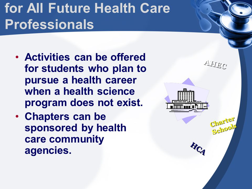 HOSA's Mission all To enhance the delivery of compassionate, quality health care by providing opportunities for knowledge, skill and leadership development of all Health Science students, therefore, helping students meet the needs of the health care community.