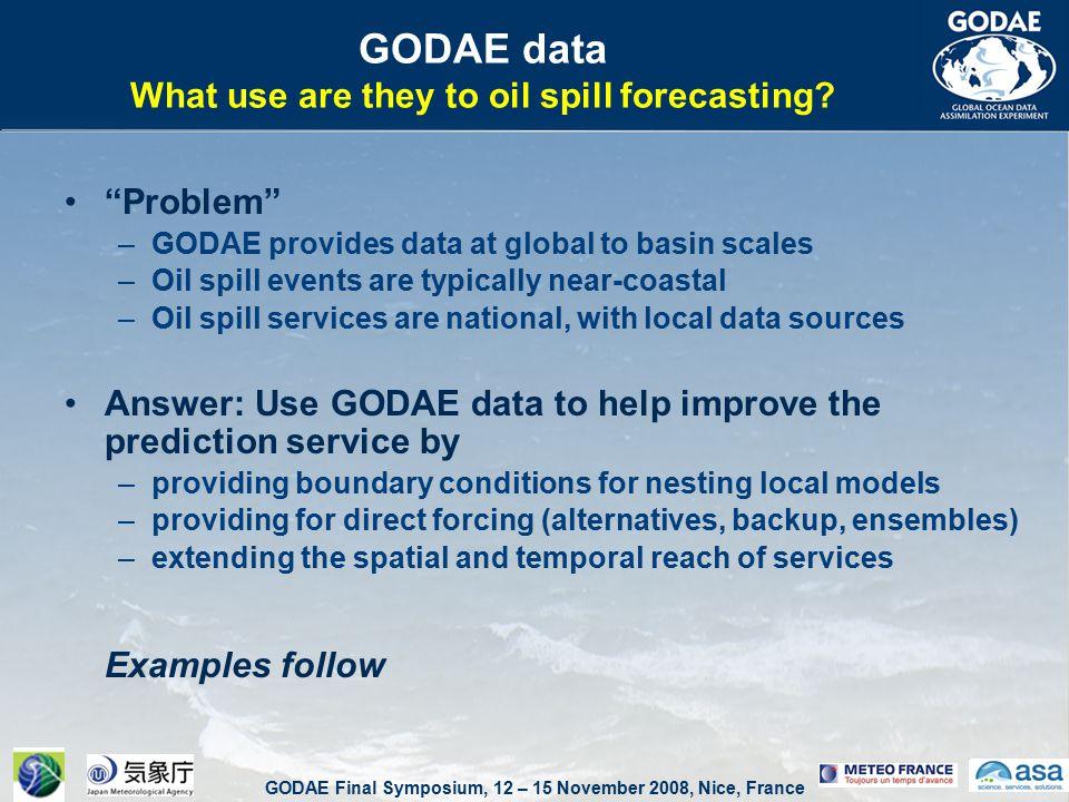 GODAE Final Symposium, 12 – 15 November 2008, Nice, France