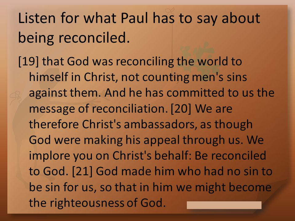 Because of God's Purpose How did Paul's view of people change after conversion.