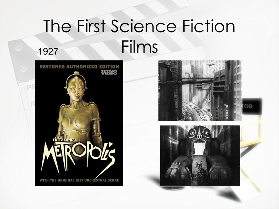 The First Science Fiction Films 1927