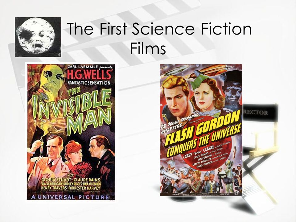 The First Science Fiction Films