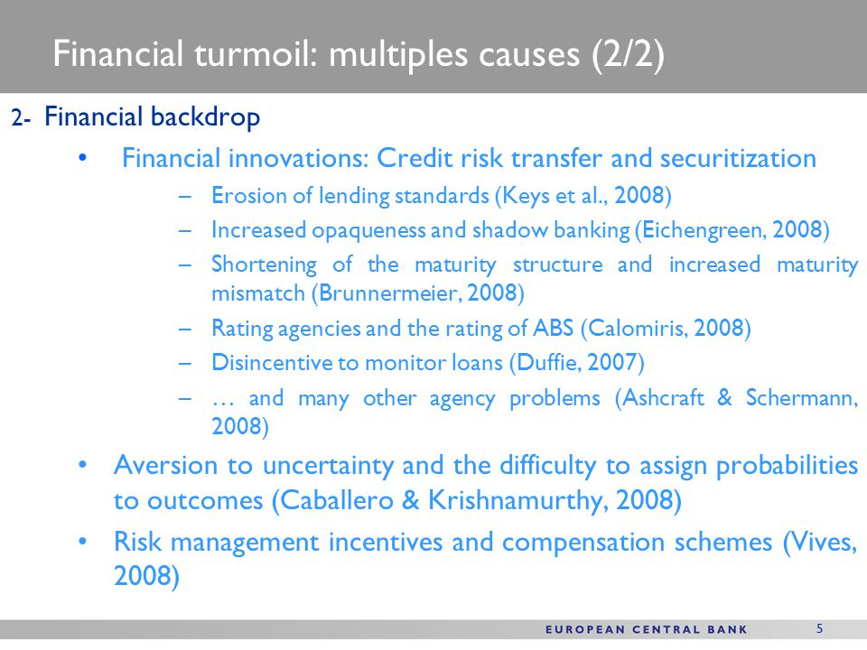6 Financial backdrop – Spectacular development of CRT instruments Source: Borio, 2008