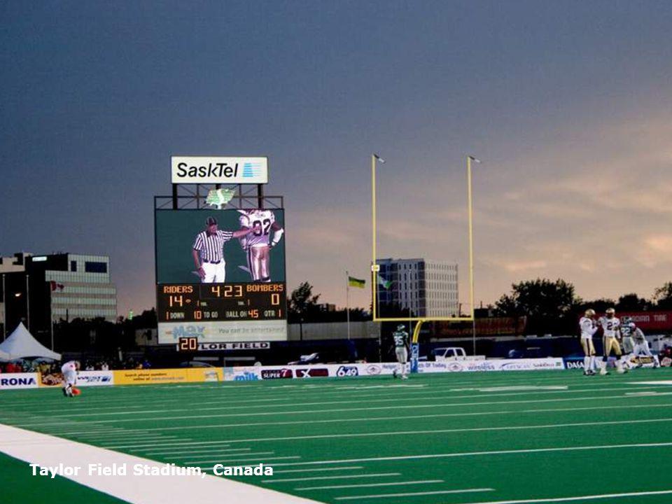 Page 14 Taylor Field Stadium, Canada