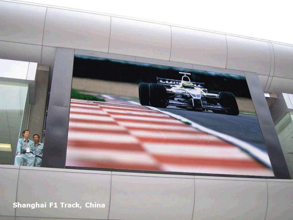 Page 15 Shanghai F1 Track, China