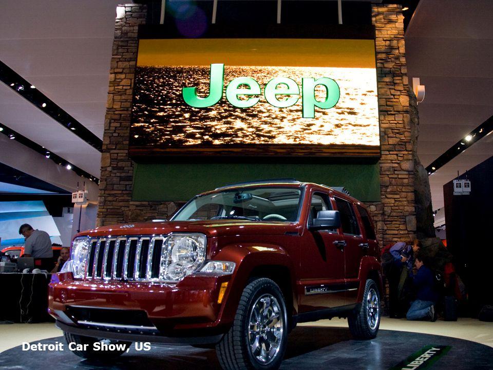 Page 18 Detroit Car Show, US