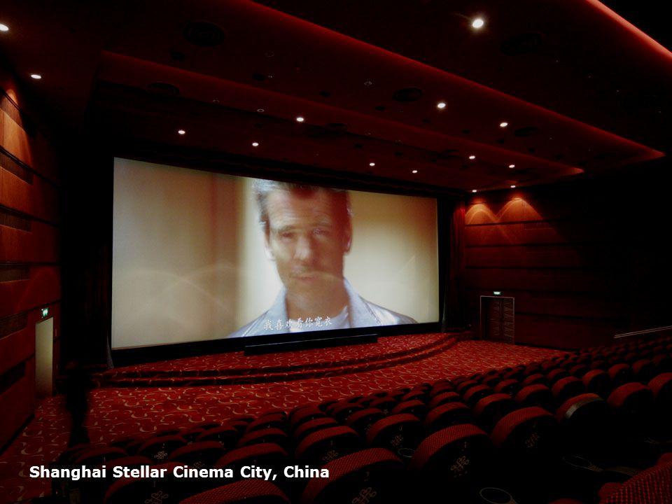 Page 22 Shanghai Stellar Cinema City, China