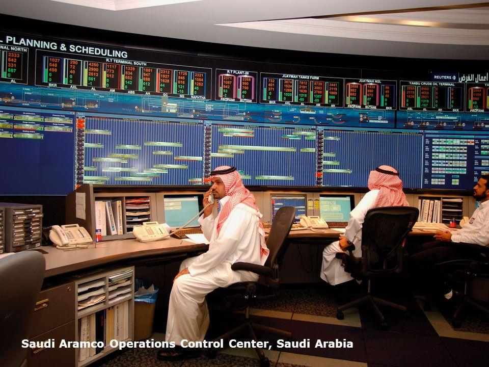 Page 36 Saudi Aramco Operations Control Center, Saudi Arabia
