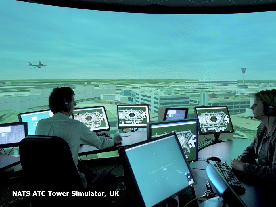 Page 58 NATS ATC Tower Simulator, UK