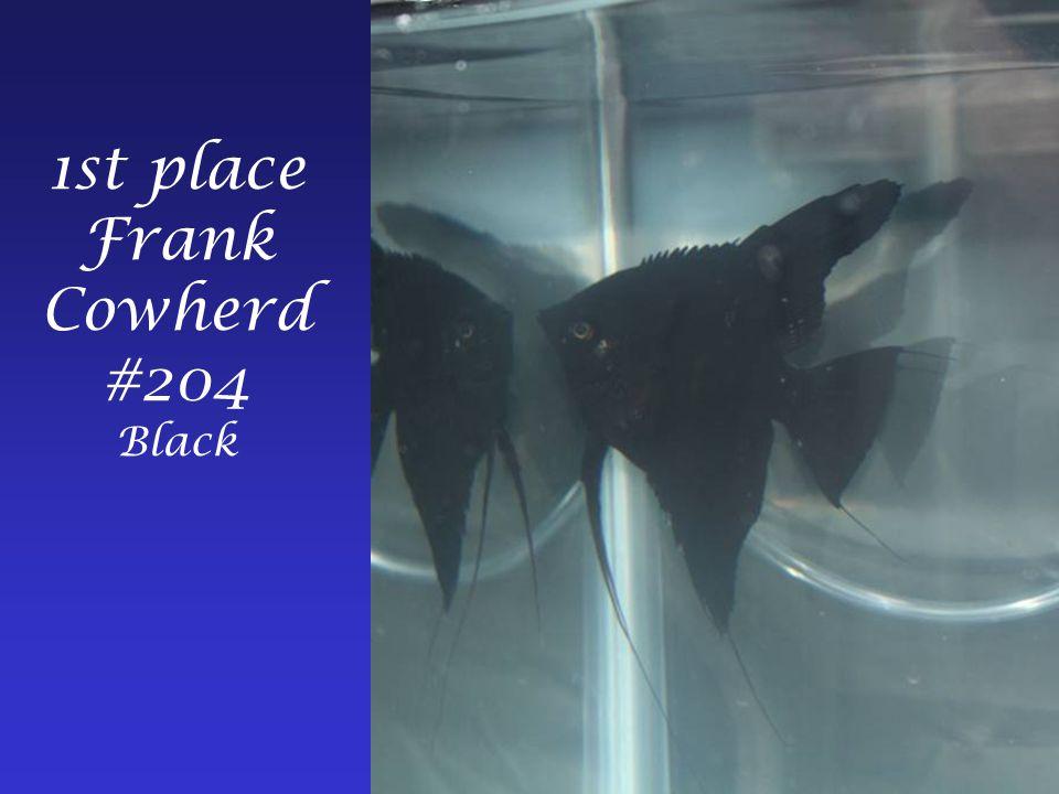 1st place Frank Cowherd #204 Black