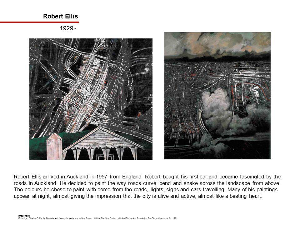Robert Ellis 1929 - Robert Ellis arrived in Auckland in 1957 from England.