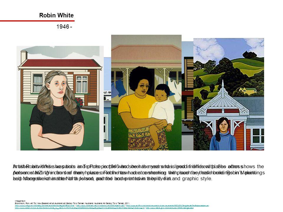 Robin White 1946 - Image/text: Brownson, Ron.