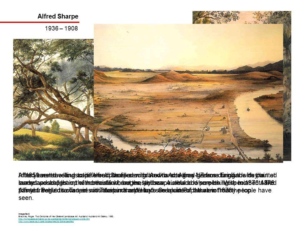 Alfred Sharpe 1936 – 1908 Image/text: Blackley, Roger.