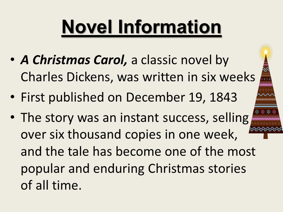 About A Christmas Carol Written during a time of decline in Christmas traditions A Victorian morality allegory of an old and bitter miser, Ebenezer Scrooge, who undergoes a profound experience of redemption over the course of one night as visited by Spirits Scrooge is a miser who has devoted his life to the accumulation of wealth.
